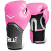 Luva Boxe Everlast pro Style Elite Training 12 Oz Rosa com Cinza